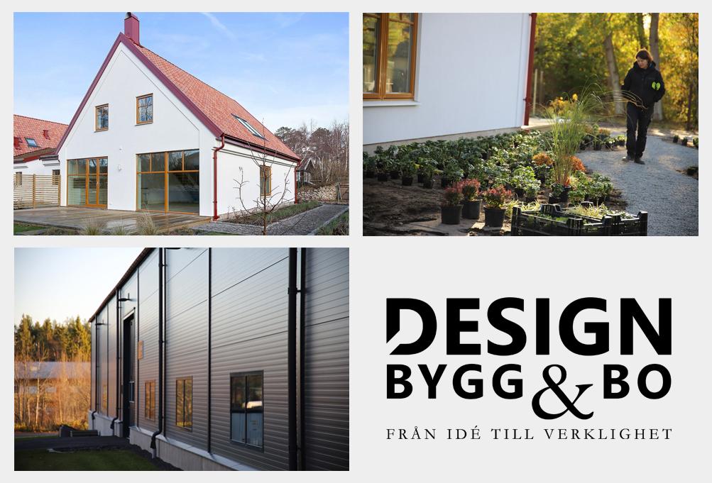 design bygg och bo trädgård, industri, villa